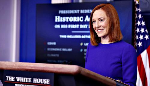 Sekretaris Pers Joe Biden Tampil di Muka Publik, Ternyata Bisa Gaet Hati Awak Media