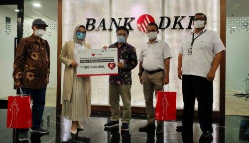 Bank DKI dan Jakarta Tourism Forum Salurkan Donasi untuk Korban Gempa Sulbar