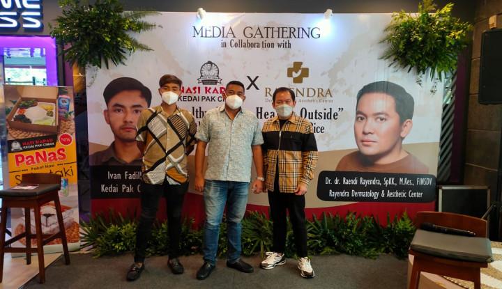 Kedai Nasi Kapau Pak Ciman dan Klinik Dermatologi Kini Hadir di Bintaro
