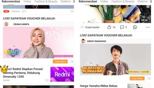 E-Commerce Live Streaming dan Konten Rekomendasi Semakin Meroket di Indonesia