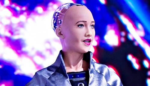 To The Next Level, Sophia Jajaki Karier Robot Baru