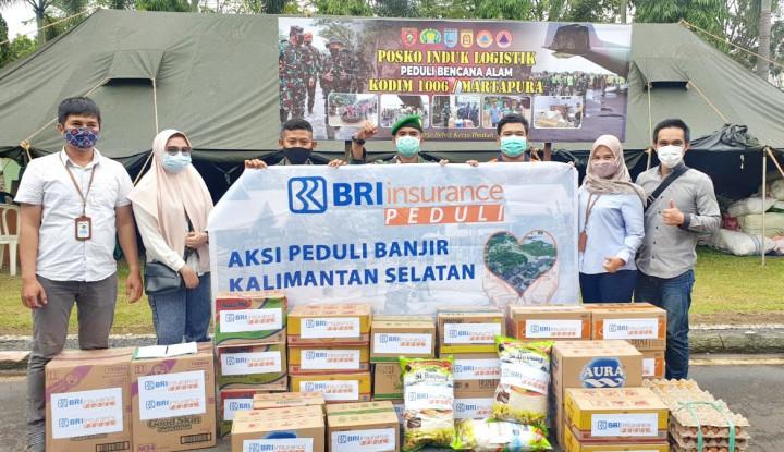 BRI Insurance Tanggap Bencana, Salurkan Bantuan di 3 Wilayah
