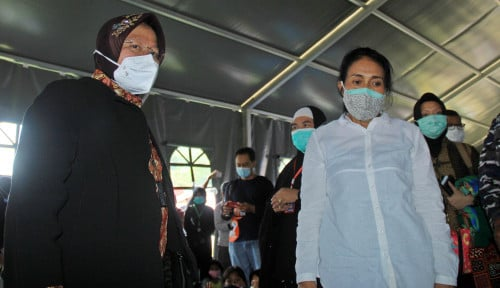 Bu Risma Komentari Banjir Jakarta, Pak Anies Tersindir?