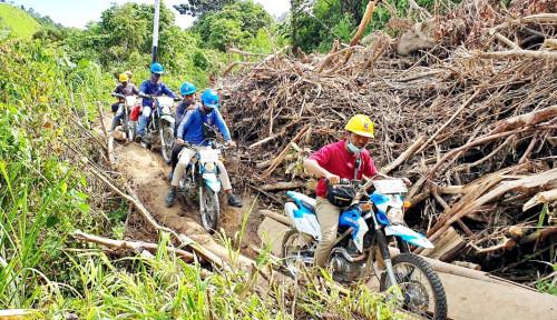 PLN Tembus Wilayah Terisolir, Pulihkan 10 Gardu Listrik Terdampak Gempa di Ulumanda Sulbar