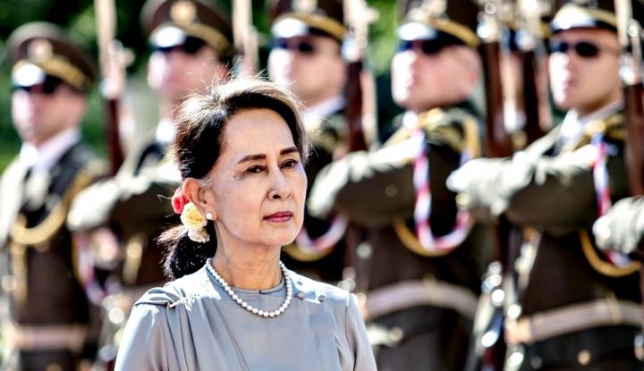 Aung San Suu Kyi Terlihat Jauh dari Kata Sehat, Tim Pengacara: Sepanjang Persidangan Dia...