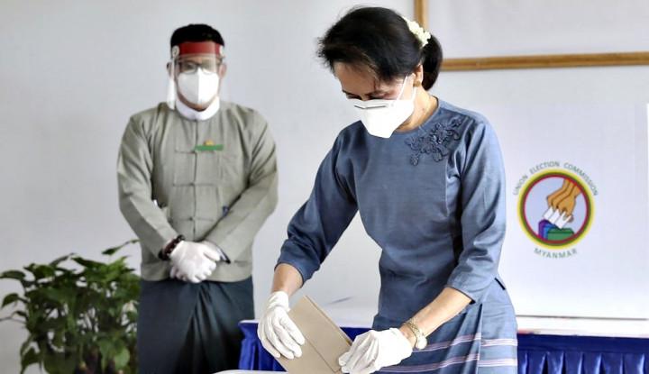 Petugas Partai Aung San Suu Kyi Tewas di Dalam Penjara