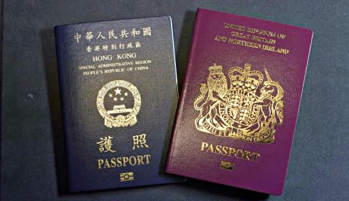 Buntut Perlakuan China, Ribuan Warga Hong Kong Berbondong-bondong Miliki Visa Inggris
