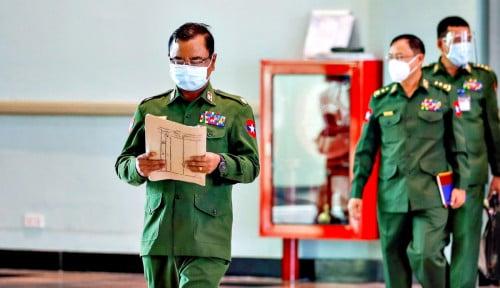 Gak Kaleng-kaleng Nih! Junta Myanmar Terbang ke Thailand, Apa Tujuannya?