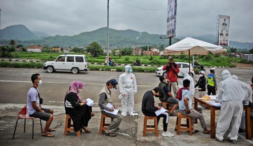 Tekan Penyebaran Virus saat Libur Imlek, Korlantas Adakan Tes Covid-19 Random di Rest Area