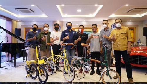 Bamsoet Kembali Luncurkan 100 Sepeda Kuning Limited Edition 'Bamsoet Klasik'
