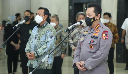 Kapolri Jendral Listyo Bertemu Ketua MA, Bahas Program yang Mengubah Pola