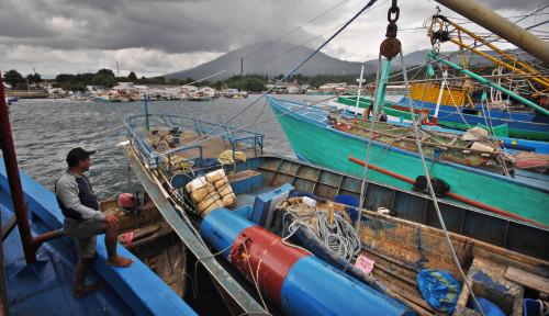 KKP Amankan 3 Kapal Pelaku Pelanggaran di Teluk Tolo