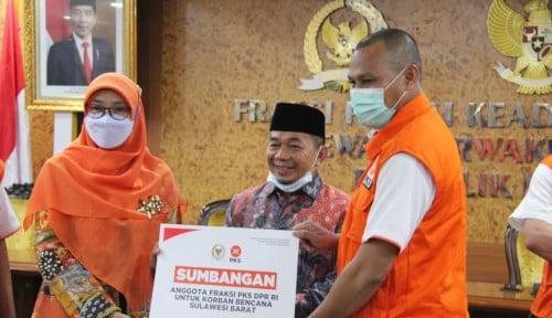 Fraksi PKS Salurkan Bantuan Bencana Hasil Pemotongan Gaji Anggota Legislatif Pusat hingga Daerah