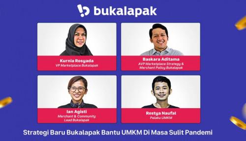 Bukalapak Dukung Ketahanan Bisnis UMKM Indonesia Lewat Tarif Layanan 0.5%