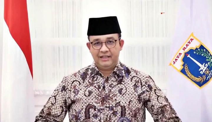 Duh, Pak Anies Bajunya Bikin Salfok Aja! Netizen: Kira Banteng, Ternyata Kerbau...