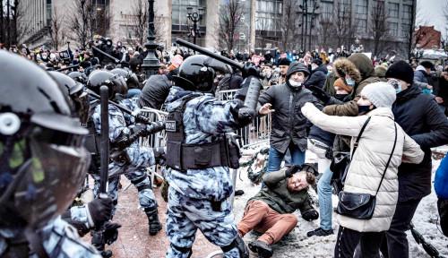 Kremlin Mau Gebuk Pendukung Navalny yang Kelewatan, Pedemo Balas: Baru Pemanasan, Lihat Skenario...