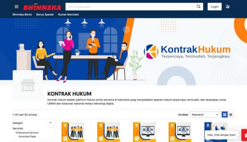 Gandeng Kontrak Hukum, Bhinneka.com Permudah Layanan Legal untuk UMKM