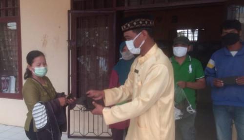 Pertagas Distribusikan Bantuan 1.000 Masker untuk Warga Bukit Batrem