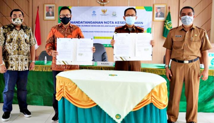 Foto Berita MoU Kejari Kota Sukabumi dan LPDB-KUMKM: Komitmen Dana Bergulir Mampu Dorong PEN