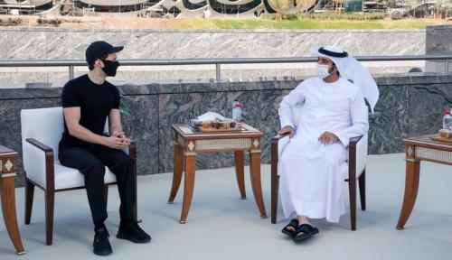 Pendiri Telegram Temui Putra Mahkota Dubai Secara Langsung, Ada Apa Nih?