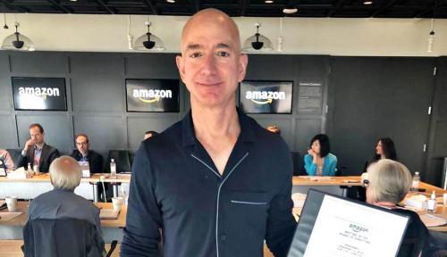 Foto Total Kekayaan Orang Terkaya Dunia 2021 Tembus Tak Terhingga, Jeff Bezos Masih Juara Pertama!