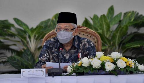 Ini Kata Ma'ruf Amin soal Vaksinasi Covid-19 di Bulan Ramadhan: Tak Masalah, Kan Bukan...