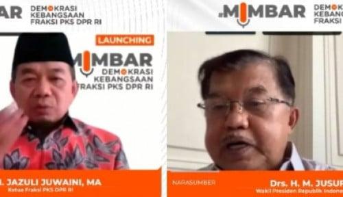 Fraksi PKS DPR Undang Jusuf Kalla Bahas Demokrasi dan Kebangsaan