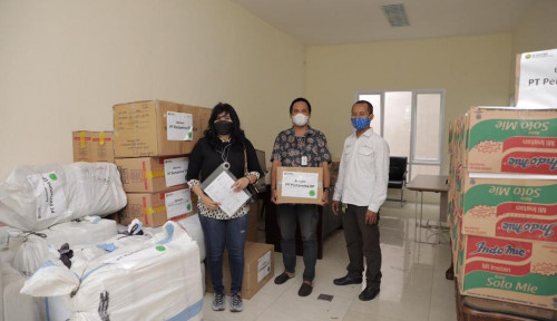 Pertamina EP Salurkan Bantuan ke Korban Bencana Alam