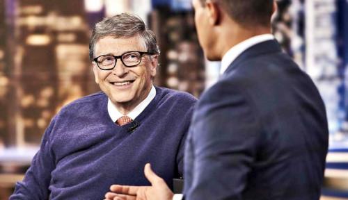 Bill Gates Dilempar Kue karena Dituding Jadi Dalang Covid-19, Ternyata Ini yang Sebenarnya Terjadi