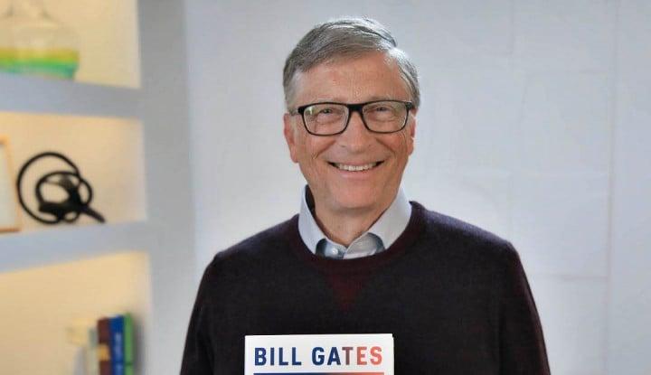 Foto Berita Tak Tertarik ke Mars Seperti Elon Musk, Bill Gates: Lebih Baik Fokus Perbaiki Bumi