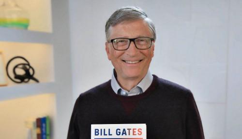 Foto Cita-cita Bill Gates: Ingin Hidup Sampai Usia 95 Tahun, Karena...