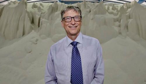 Foto Covid-19 Bermutasi, Bill Gates Beberkan Vaksin Jagoannya untuk Lawan Varian Baru Corona