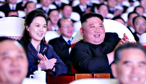 Menghilang Setahun, Begini Penampakan Teranyar Istri Kim Jong Un