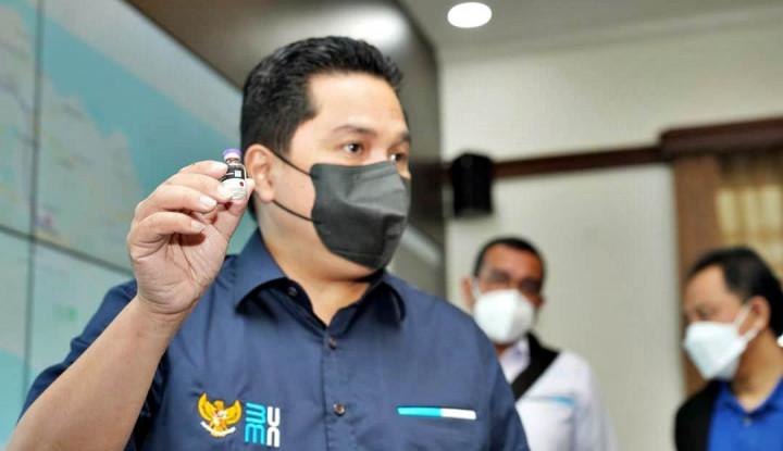 Jokowi & Erick Minta Bulog Bertransformasi ke Arah Digitalisasi