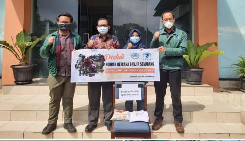 Bantu Korban Banjir Semarang, IKATEKA UNDIP: Semoga Bermanfaat...