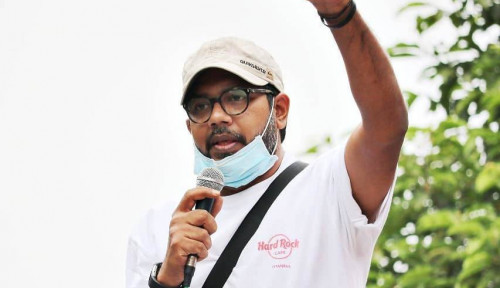 Adu Mulut dengan Politisi PKPI, Haris Azhar: Itu Versi Anda! Cara Belain Jokowi
