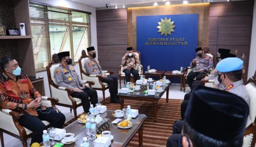 Inilah Pertemuan Akrab antara Kapolri Listyo dan Ketum PP Muhammadiyah Haedar Nashir