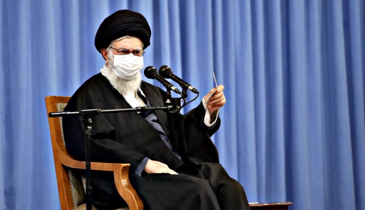 Pemilu Tiba, Khamenei Serukan pada Masyarakat Iran untuk Berpartisipasi