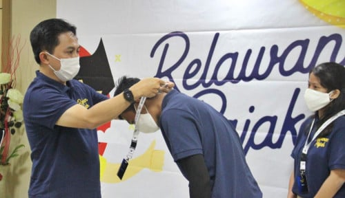 Kakanwil DJP Sumut I Kukuhkan 165 Relawan Pajak