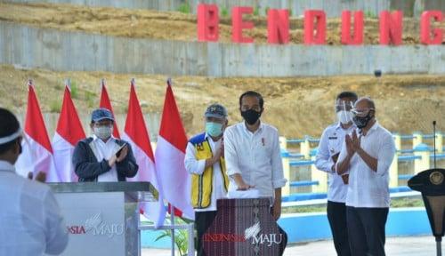 Resmikan Bendungan Napun Gete, Jokowi: Air untuk Kemakmuran Sikka dan NTT