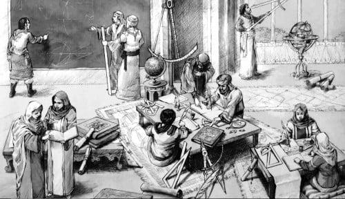 Menengok Jejak Perpustakaan Islam Abad ke-8, Ubah Dunia dengan Ilmu Matematika Modern