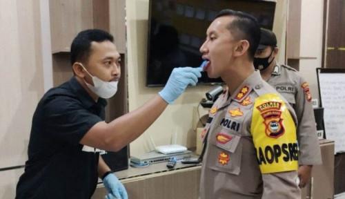 Mantap Nih! Tes Narkoba Polisi di Polres Ini Hanya Lewat Air Liur