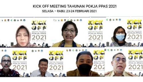 Bappenas Kembali Gelar Meeting Tahunan Pokja PPAS 2021