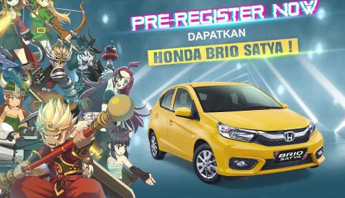 Pra Registrasi Lost Saga Origin Dibuka, Eits... Hadiahnya Ada Honda Brio