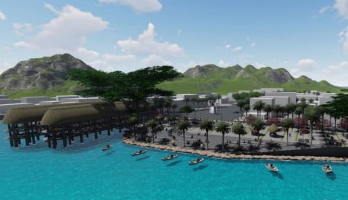 Lengkapi DPSP Labuan Bajo, Kementerian PUPR Lakukan Penataan 3 Kawasan Wisata di Kota Kupang NTT