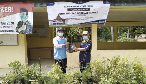 Ajak Masyarakat Aceh Lebih Peduli Lingkungan, Mahasiswa UNS Lakukan Program Ini