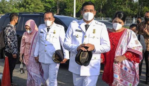 Foto Bobby Nasution Dilantik Jadi Wali Kota Medan, Harta Kekayaannya Capai Rp54 M Tanpa Utang!
