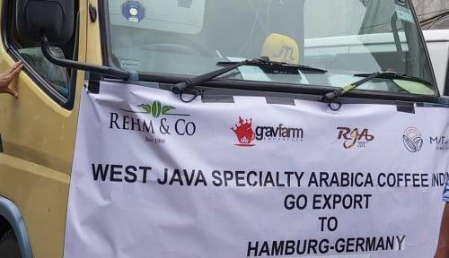 Jabar Ekspor 6 Ton Specialty Coffee ke Jerman
