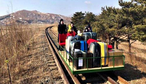 Mudik Mandiri Pakai Kereta Kuno, Diplomat Rusia Sukses Keluar dari Wilayah Kim Jong-un