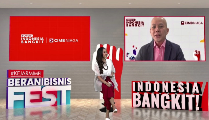 BNGA Gelar Kejar Mimpi Berani Bisnis Fest, CIMB Niaga Dorong UKM Indonesia Berkolaborasi